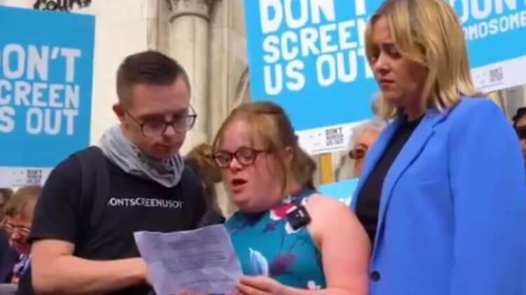 Mixed response from disabled activists to Heidi Crowter abortion case ruling