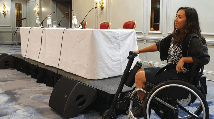 Labour conference: Party chief pledges to put an end to disability discrimination